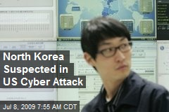 North Korea Suspected in US Cyber Attack