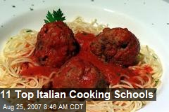 11 Top Italian Cooking Schools