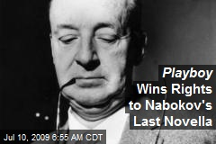 Playboy Wins Rights to Nabokov's Last Novella