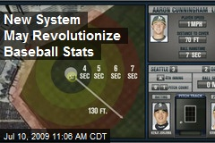 New System May Revolutionize Baseball Stats
