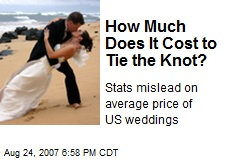 How Much Does It Cost to Tie the Knot?