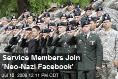 Service Members Join 'Neo-Nazi Facebook'