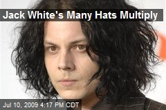 Jack White's Many Hats Multiply