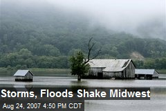Storms, Floods Shake Midwest