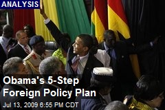 Obama's 5-Step Foreign Policy Plan