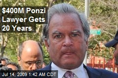 $400M Ponzi Lawyer Gets 20 Years