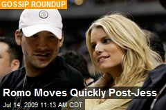 Romo Moves Quickly Post-Jess