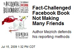 Fact-Challenged Facebook Book Not Making Many Friends
