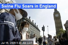 Swine Flu Soars in England