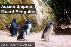 Aussie Snipers Guard Penguins