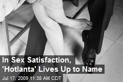 In Sex Satisfaction, 'Hotlanta' Lives Up to Name
