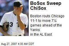 BoSox Sweep ChiSox