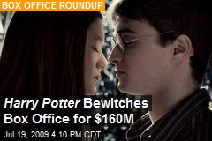 Harry Potter Bewitches Box Office for $160M