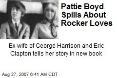 Pattie Boyd Spills About Rocker Loves