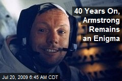 40 Years On, Armstrong Remains an Enigma