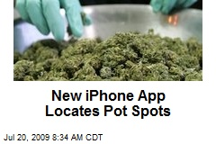 New iPhone App Locates Pot Spots