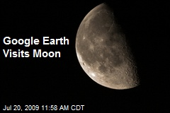 Google Earth Visits Moon