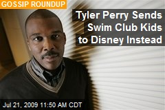 Tyler Perry Sends Swim Club Kids to Disney Instead