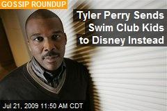 Tyler Perry Sends Swim Club Kids to Disney Instead