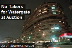 No Takers for Watergate at Auction