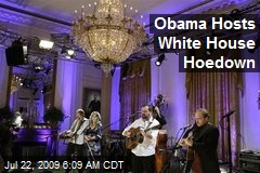 Obama Hosts White House Hoedown