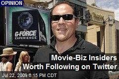 Movie-Biz Insiders Worth Following on Twitter