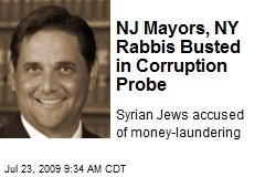 NJ Mayors, NY Rabbis Busted in Corruption Probe