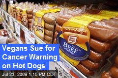 Vegans Sue for Cancer Warning on Hot Dogs