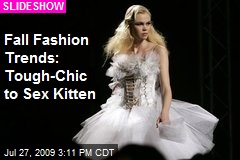 Fall Fashion Trends: Tough-Chic to Sex Kitten