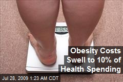 Obesity Costs Swell to 10% of Health Spending