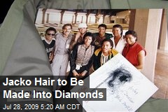 Jacko Hair to Be Made Into Diamonds