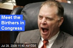 Meet the Birthers in Congress