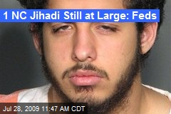 1 NC Jihadi Still at Large: Feds