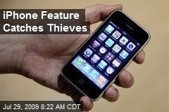 iPhone Feature Catches Thieves