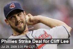 Phillies Strike Deal for Cliff Lee