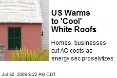US Warms to 'Cool' White Roofs