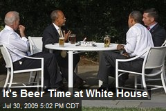 It's Beer Time at White House