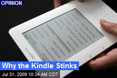 Why the Kindle Stinks