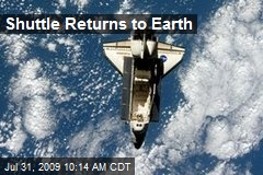 Shuttle Returns to Earth