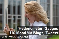 'Hedonometer' Gauges US Mood Via Blogs, Tweets