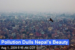 Pollution Dulls Nepal's Beauty