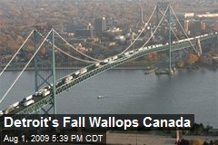 Detroit's Fall Wallops Canada