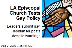 LA Episcopal Church Tests Gay Policy
