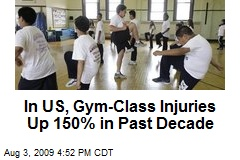 In US, Gym-Class Injuries Up 150% in Past Decade