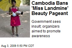 Cambodia Bans 'Miss Landmine' Beauty Pageant