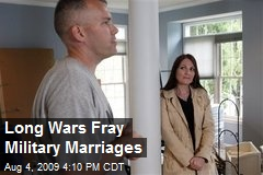 Long Wars Fray Military Marriages