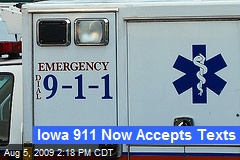 Iowa 911 Now Accepts Texts