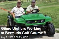 Gitmo Uighurs Working at Bermuda Golf Course