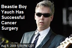 Beastie Boy Yauch Has Successful Cancer Surgery