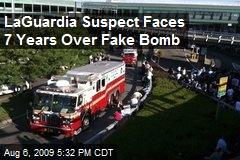 LaGuardia Suspect Faces 7 Years Over Fake Bomb